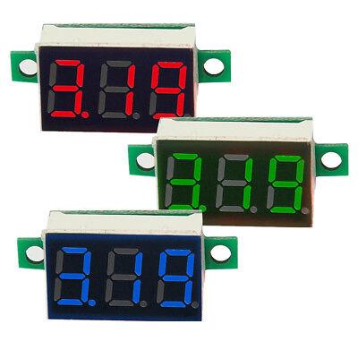0.36 Led Dc 2.5v-30v Mini Digital Voltmeter Meter Panel Voltage Volt Gauge Test