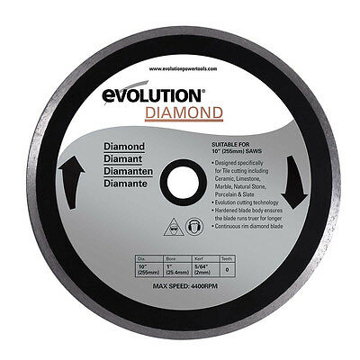 Evolution 10 Diamond Tile Blade 10bladedm
