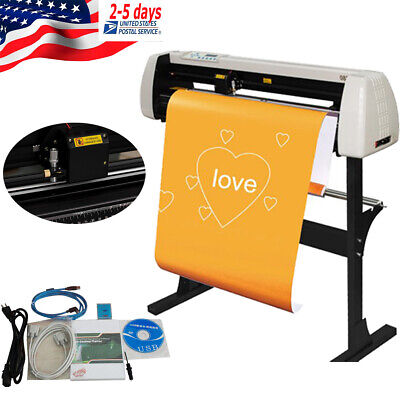 28 Inch Plotter Machine Vinyl Cutter Sign Cutting Plotter Sign Cutting W Stand
