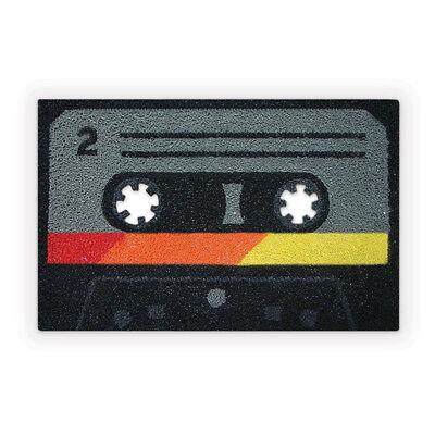Tape 2 Doormat from Meninos. Cool retro cassette doormat, Fun Gift!