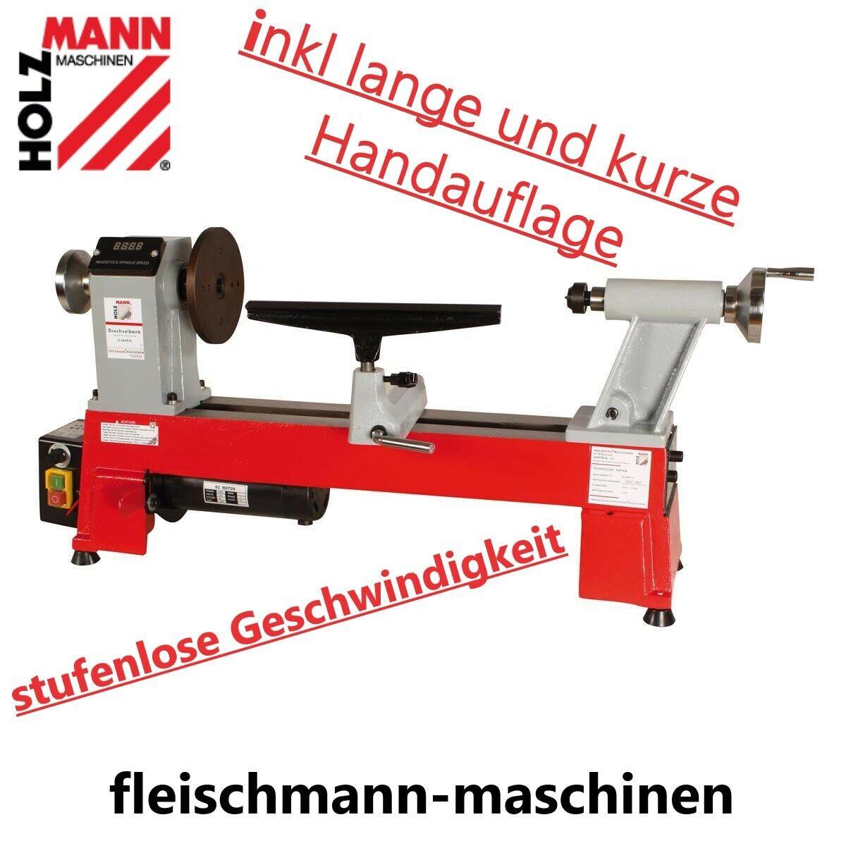 Holzmann Drechselbank D460FXL 230V variabler Drehzalregulierung Drechselmaschine