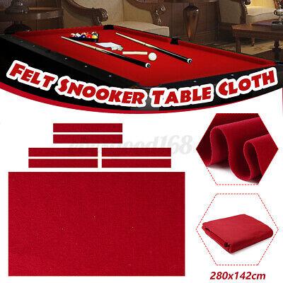 Billiard Pool Table Cloth Felt with Cushion Cloth Strip Nylon 280cm x 142cm
