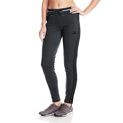 Womens Adidas Condivo 16 Training Pants Grey Black Athletic Apparel NEW