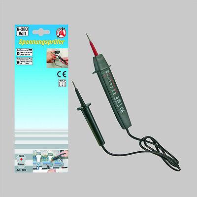 BGS Spannungstester Dioden Prüflampe AC CD 6-380 V Spannungsprüfer Stromprüfer