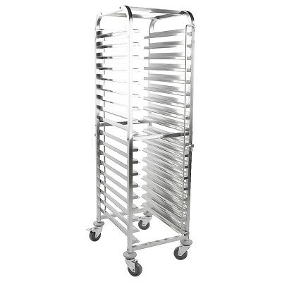 iMettos - Multifunctional Racking Trolley 18 Shelves for Both GN Pan 1/1 & 40x60
