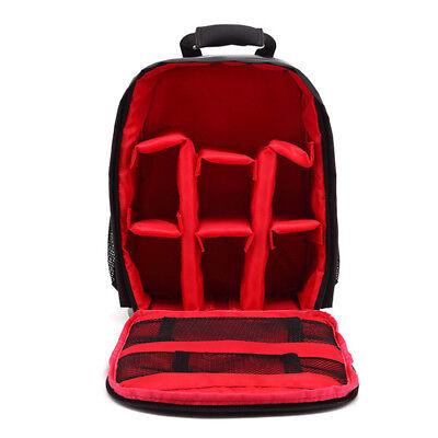 Premium Digital Camera Bag Backpack Photo SLR DSLR Case for Nikon Sony Canon