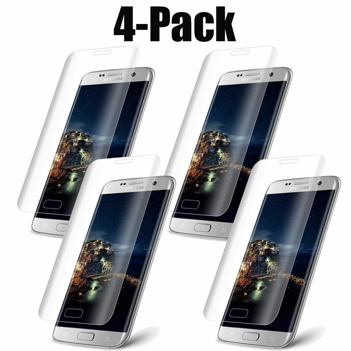 Full Coverage Tempered Glass Curved Screen Protector for Sam