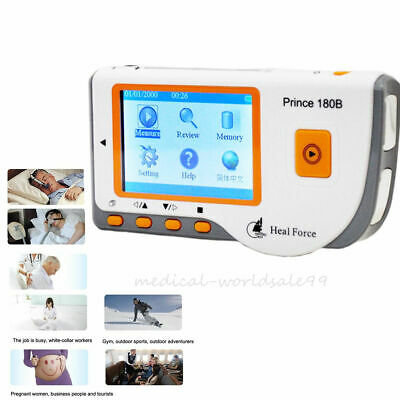 Hanheld Color Screen Ecg Ekg Mahine Portable Heart Monitor Usb Software A