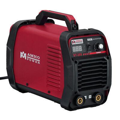 St-205 205-amp Tig Torch Stick Arc Dc Welder 115v 230v Dual Voltage Welding