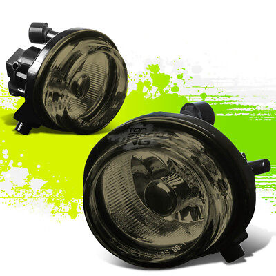 Smoked Tint Oe Bumper Fog Lights Lamps Pair For 07 09 Mazda Cx 7 Crossover Suv