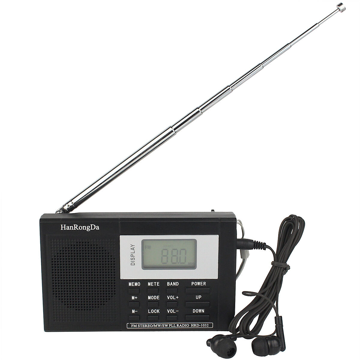 pocket dsp fm mw sw radio shortwave receiver digital. Black Bedroom Furniture Sets. Home Design Ideas