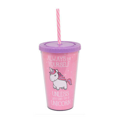 Xpressions Unicorn Cup - Girls Birthday Gift Idea - Unicorn Cup With Lid - Girl Birthday Ideas