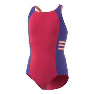 6cc1c2ac26d0 Adidas Occ Swim Inf Costume da bagno Bambina Rosa (rosene/tinmis ...