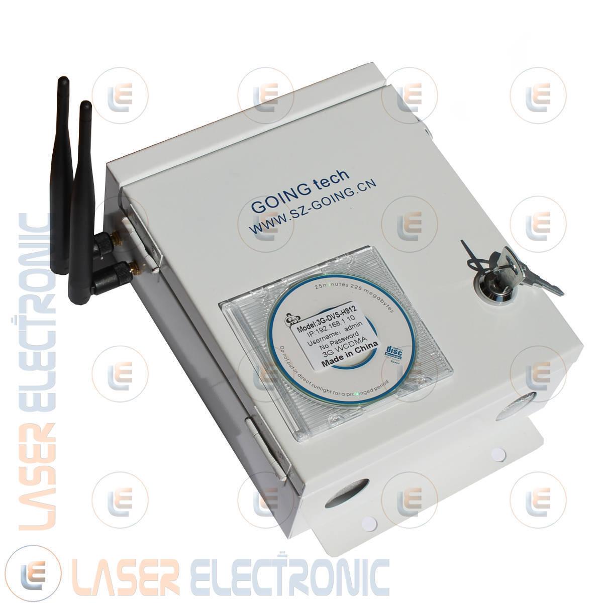 Video Server IP WiFi 3G UMTS GPRS WaterProof Slot SIM Ingressi BNC Telecamere