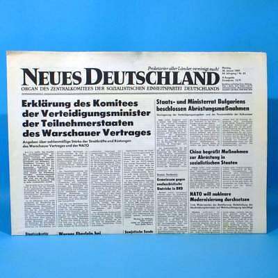 DDR Neues Deutschland 30.04.1989 April Zum Geburtstag Hochzeitstag 29. 30. 31.