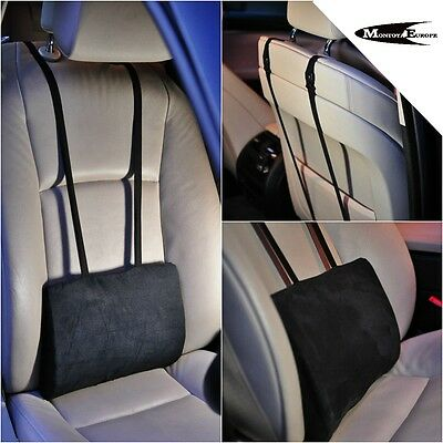 Lower Back Lumbar Support Cushion Pillow For Car Seat Office Chair