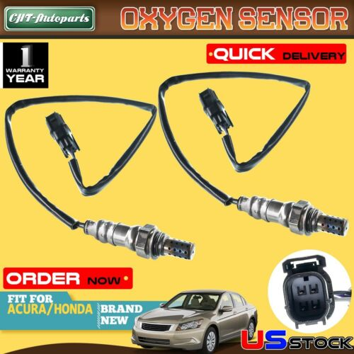 2 Oxygen Sensor For Acura MDX RL TL TSX ZDX Honda Accord