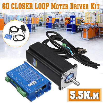 Hybrid Nema23 Two-phase 60 Closed Loop 5.5 N.m. Stepper Motor Servo Driver Kit