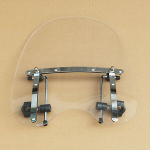 Clear Windshield Windscreen For Kawasaki Vulcan VN500 750 800 900 1500 1600 1700