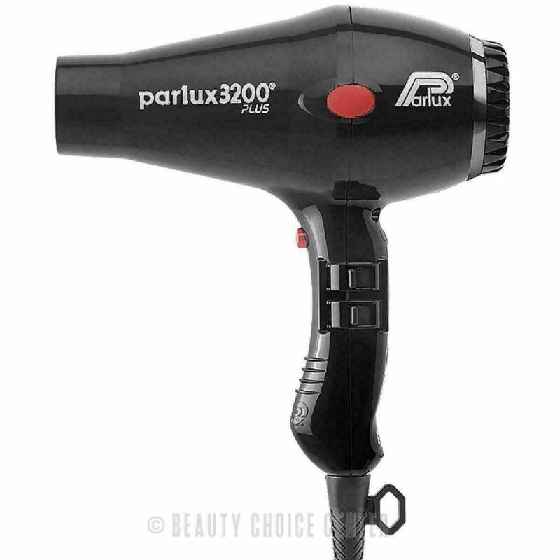 Parlux 3200 Compact Hair Dryer PLUS - Black (NEW)