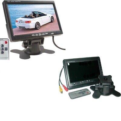 Mbildschirmonitor LCD 7 TFT Fernseher Auto Camper Kopfstützen A Farbe Basis (Auto Tv Halterung)