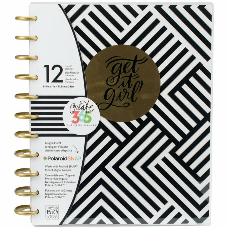 NEW The BIG Happy Planner GET IT GIRL 12 Month Vertical Undated Planner