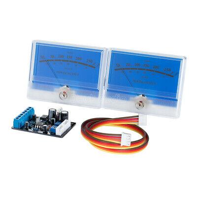2pcs Amplifier Panel Vu Meter Db Sound Level Header Lamp Indicator Driver Board