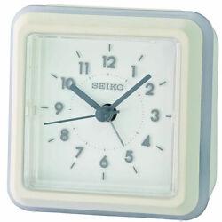 Seiko Alarm Tabletop Clock Ena Quartz White QHE182WLH