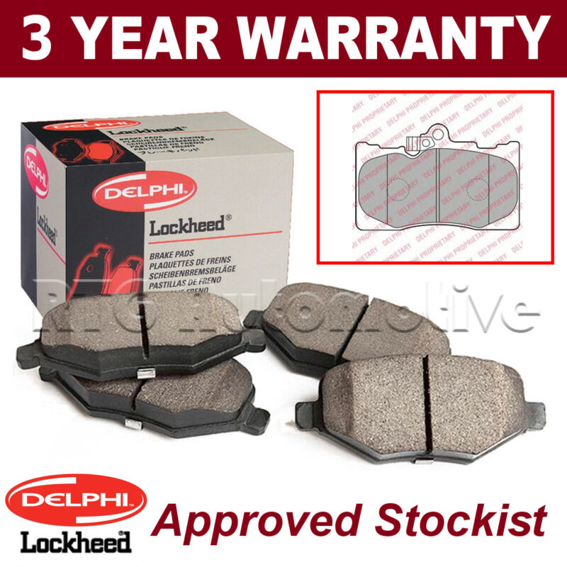 Set of Front Delphi Lockheed Brake Pads For Lexus GS 300 430 LP2122