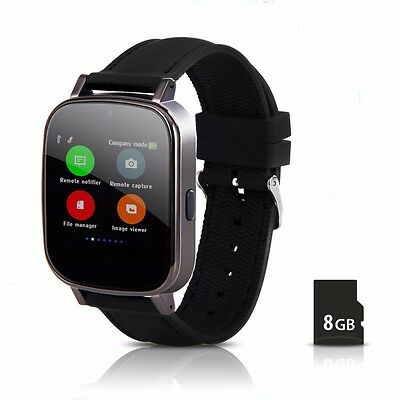 Mens Womens watches Bluetooth Smart Watch GSM SIM for Android With 8G SD Calling-card