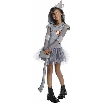 Kids Girls Halloween Wizard Of Oz Tin Man Tutu Dress Costume NEW Small Girls - Tin Girl Halloween Costume