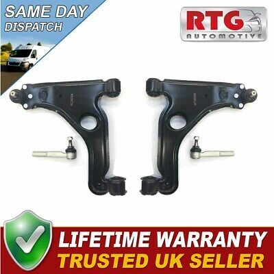 Front Suspension - Lower Bottom Wishbone Arms + Track Tie Rod Ends SSK47-11