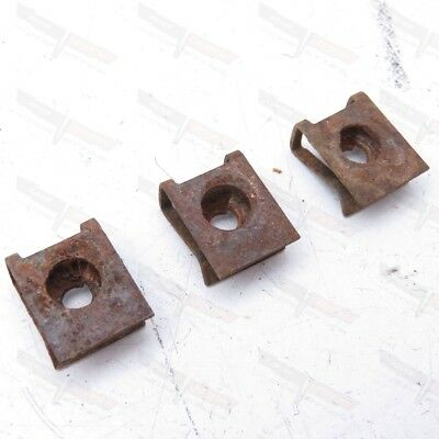 Corvette Original Radiator Coolant Recovery Overflow Tank Mount Clips 1973-1982