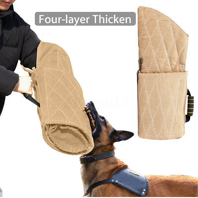 Hund Training Biss Beissen Beißkissen Arm Schutz Ärmel für Deutscher Schäferhund