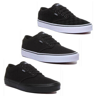 Vans Atwood Mens Canvas Trainers In Various Colours Size UK 6 - 12