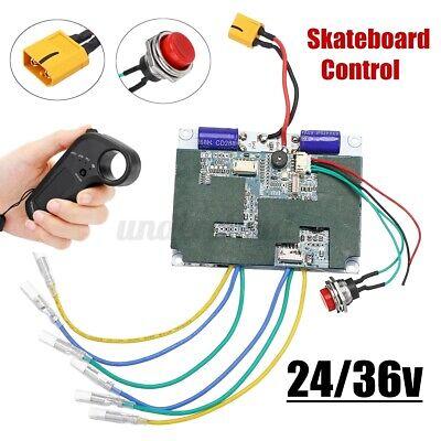 Dual Motor Electric Skateboard Longboard Controller ESC Substitute kit w/ Remote