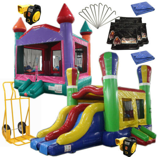 Bounce House Startup Package Commercial Grade, Inflatable