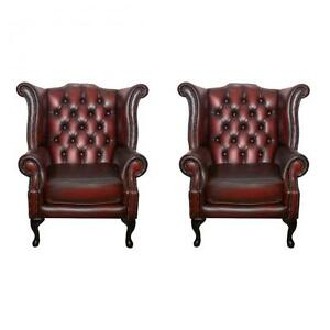 Leather Queen Anne Chairs Queen Anne Armchair A90