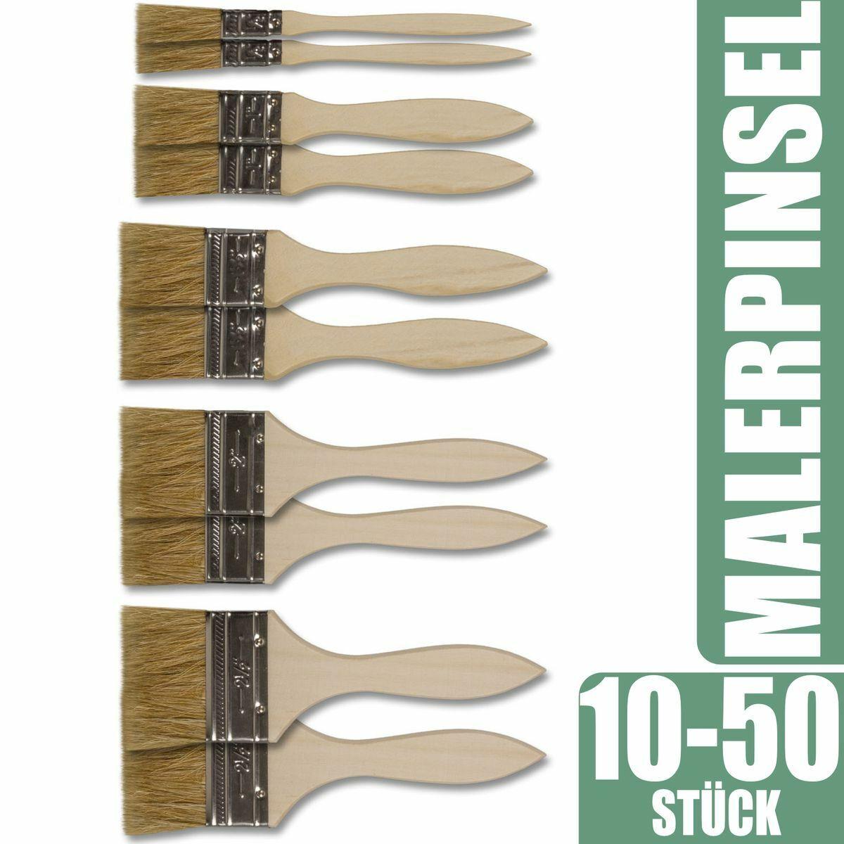60 x Ringpinsel Lackpinsel Lackierpinsel Rundpinsel Lasurpinsel Industriepinsel
