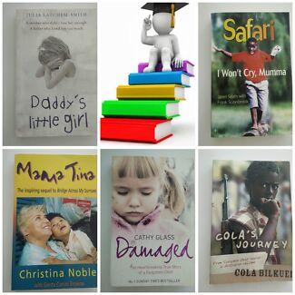 Bulk book bundle - autobiographies - inspiring stories of children