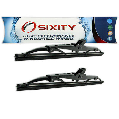 Front Windshield Wiper Blades for Alfa Romeo Berlina GT Veloce Spider OEM ep