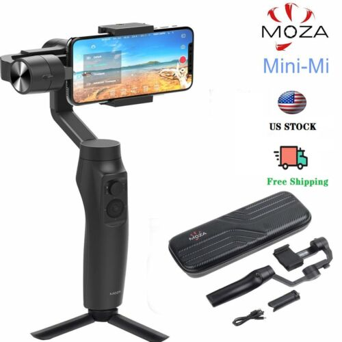 Moza Mini-MI 3-Axis Smartphone Wireless Charging Gimbal Stabilizer, Multiple Sub