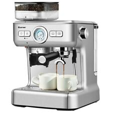 Two Cup Espresso Coffee Maker With Built In Steamer ...