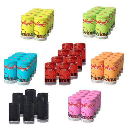 Renova Luxury Colored Paper Towel Jumbo Rolls 2-Ply-120 Sheets Set of 8