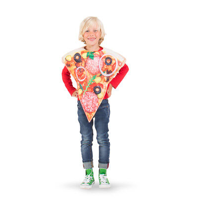 Pizza Salami Essen Kinderkostüm