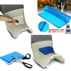 Universal Gel Seat Pad 25*25*1cm Comfortable shock absorption Mats DIY Modified