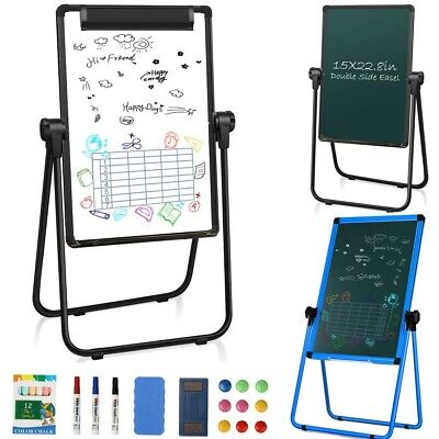 18x24 Whiteboard Portable Magnetic Easel Dry Erase Board Adjustable For Home