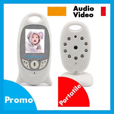 BABY CONTROLLO CAM BAMBINO NEONATO AUDIO VIDEO CONTROL MONITOR TELECAMERA CAM