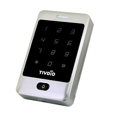 TIVDIO Access Control Tür Eintrag System mit Hintergrundbeleuchtung Touch-Tastat ()