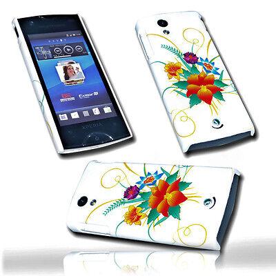 Design 1 Back Case Handy Hülle Cover Schutzhülle  für Sony Ericsson  Xperia Ray Handy Cover Sony Ericsson